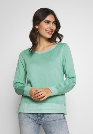 SHIRT AT BACK - Sweater - misty spearmint