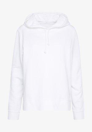 LONG SLEEVE HOODED  - Bluza z kapturem - dove white