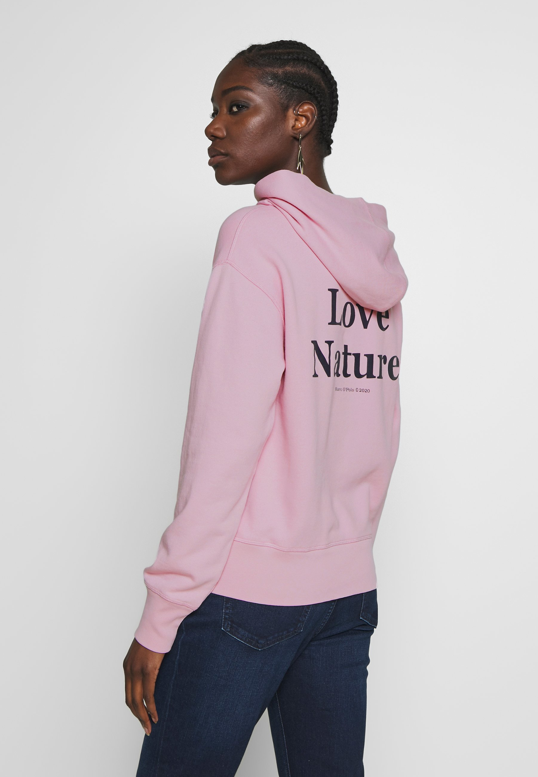Marc O'Polo Hoodie - bleached berry