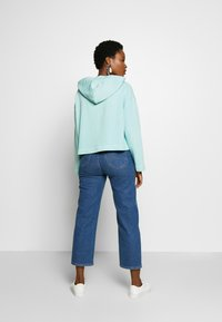 Marc O'Polo - LONG SLEEVE HOODED PATCHED POCKET - Hoodie - misty spearmint - 2