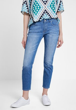 TROUSER REGULAR WAIST - Jeansy Slim Fit - light summer denim wash