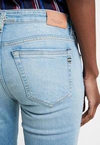 Marc O'Polo - TROUSER REGULAR WAIST - Jeans slim fit - light blue winter wash - 5