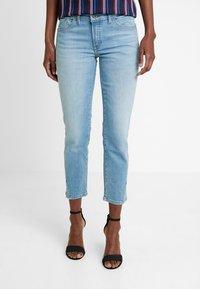 Marc O'Polo - TROUSER REGULAR WAIST - Jeans slim fit - light blue winter wash - 0