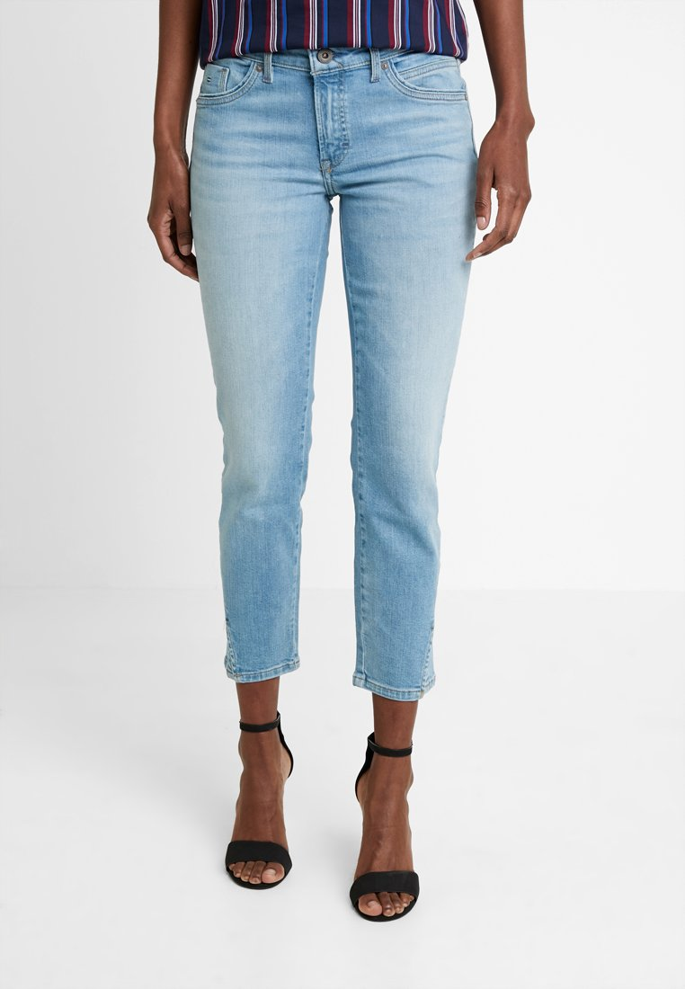 Marc O'Polo - TROUSER REGULAR WAIST - Jeans slim fit - light blue winter wash