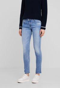 Marc O'Polo - TROUSER - Slim fit jeans - light authentic denim mid blue - 0
