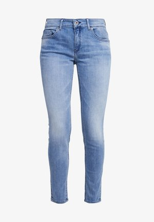 TROUSER - Jean slim - light authentic denim mid blue