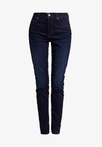 Marc O'Polo - TROUSER HIGH WAIST - Slim fit jeans - dark blue denim - 4