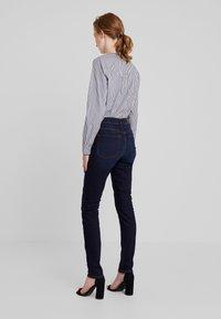 Marc O'Polo - TROUSER HIGH WAIST - Slim fit jeans - dark blue denim - 2