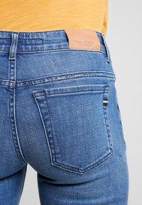 Marc O'Polo - TROUSER SLIM LEG - Slim fit jeans - blue forest wash - 4