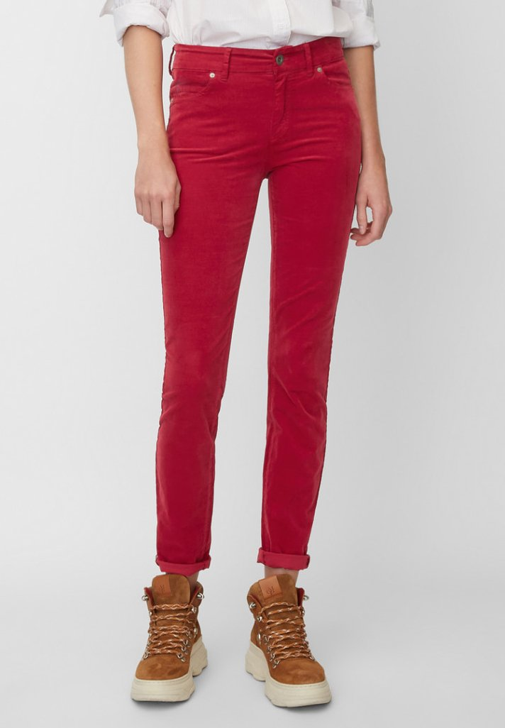 Marc O'Polo - ALBY - Trousers - red