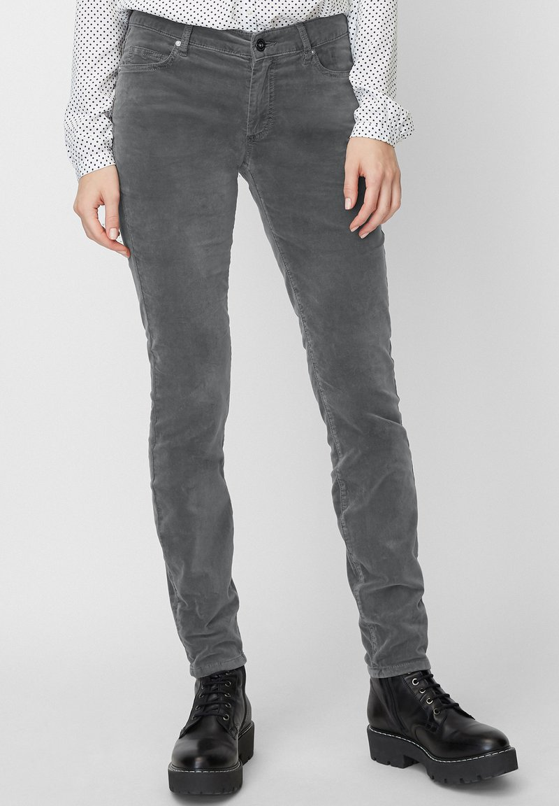Marc O'Polo - ALBY - Trousers - grey