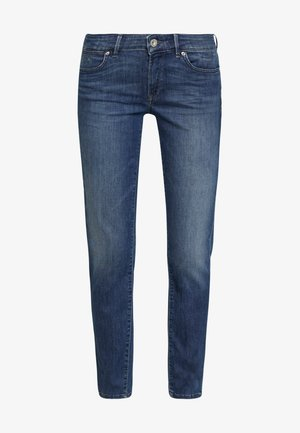 TROUSER - Straight leg jeans - light summer wash