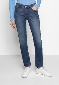 Marc O'Polo - TROUSER - Straight leg jeans - light summer wash - 0