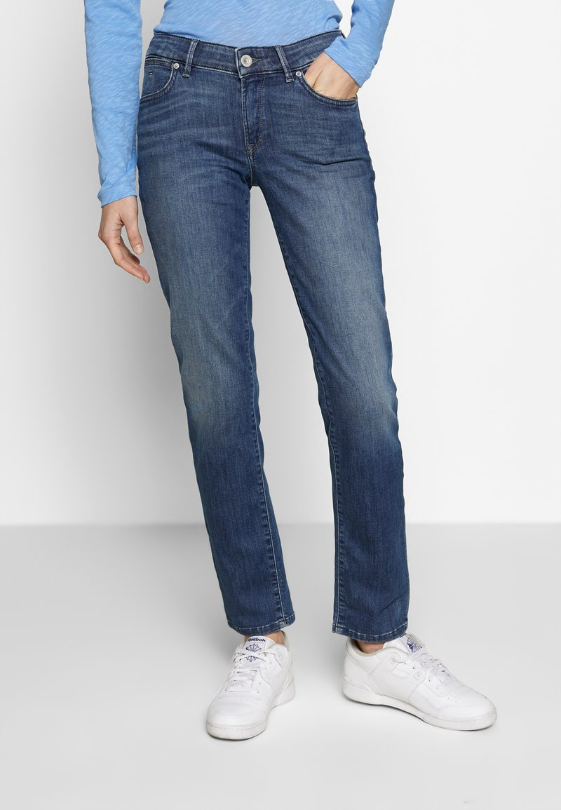 Marc O'Polo - TROUSER - Straight leg jeans - light summer wash