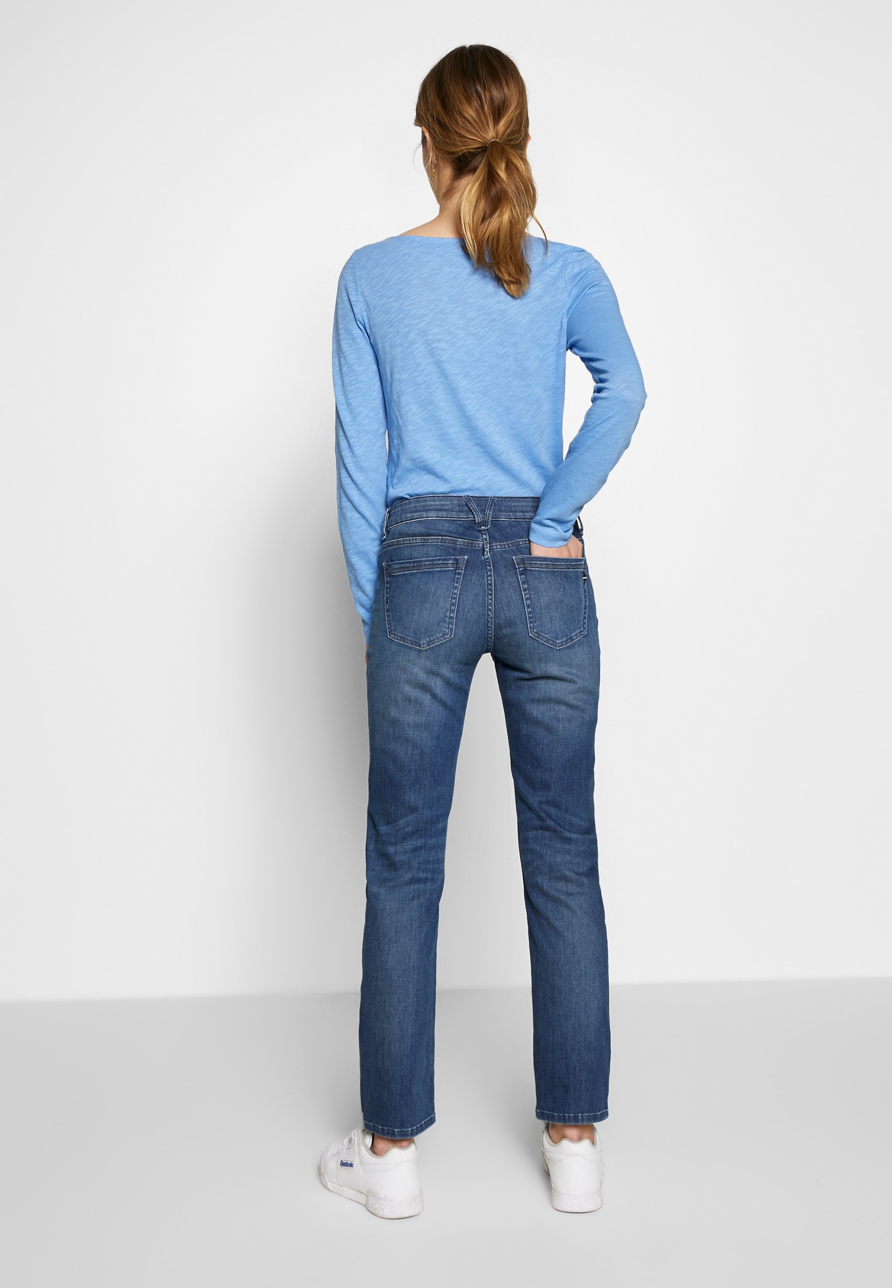 Marc O'Polo TROUSER - Jeansy Straight Leg - light summer wash