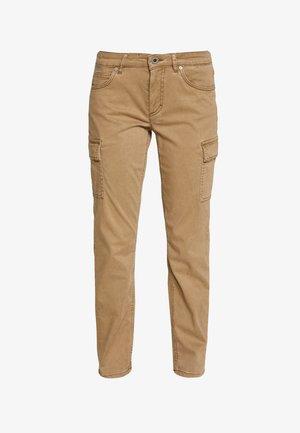 POCKET CARGO STYLE MID WAIST SLIM LEG - Pantalones - mild tobacco