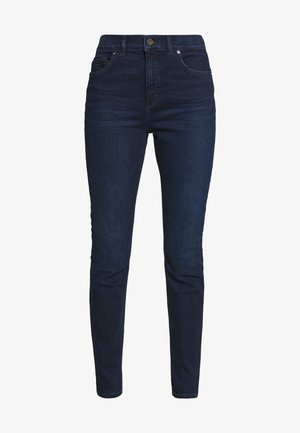 TROUSER - Vaqueros slim fit - dark blue base wash