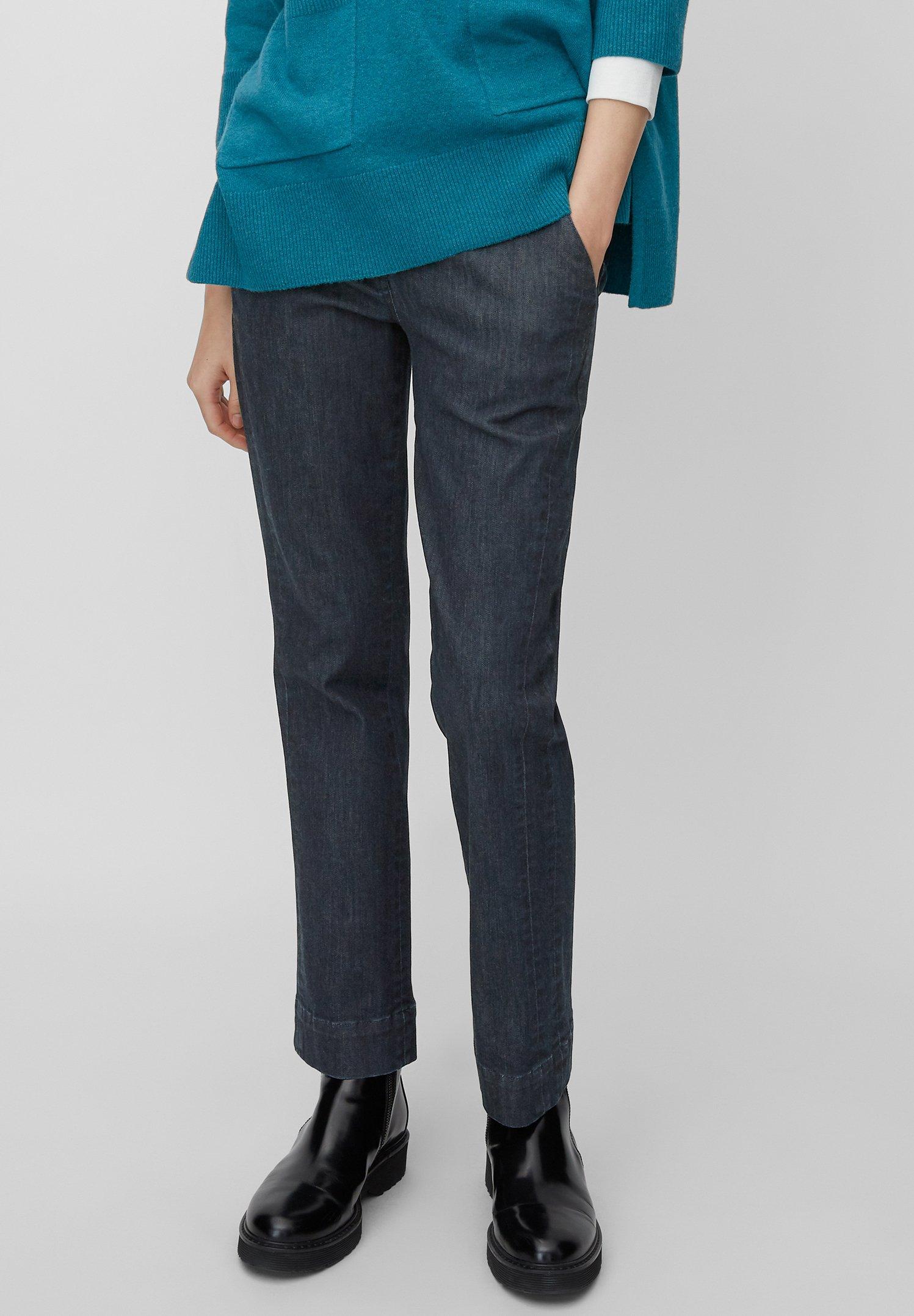 Marc O'Polo Jeansy Straight Leg - blue