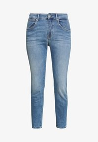 Marc O'Polo - TROUSER MID WAIST  - Slim fit jeans - light summer wash - 3