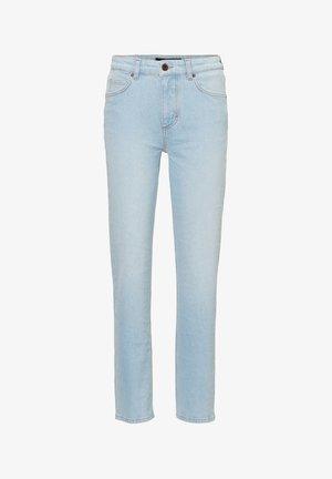 MARC O'POLO JEANS LINDE STRAIGHT MIT GERADEM CROPPED LEG - Straight leg jeans - light blue shade denim