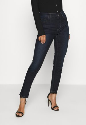 TROUSER HIGH WAIST  - Jeans Skinny Fit - red line denim