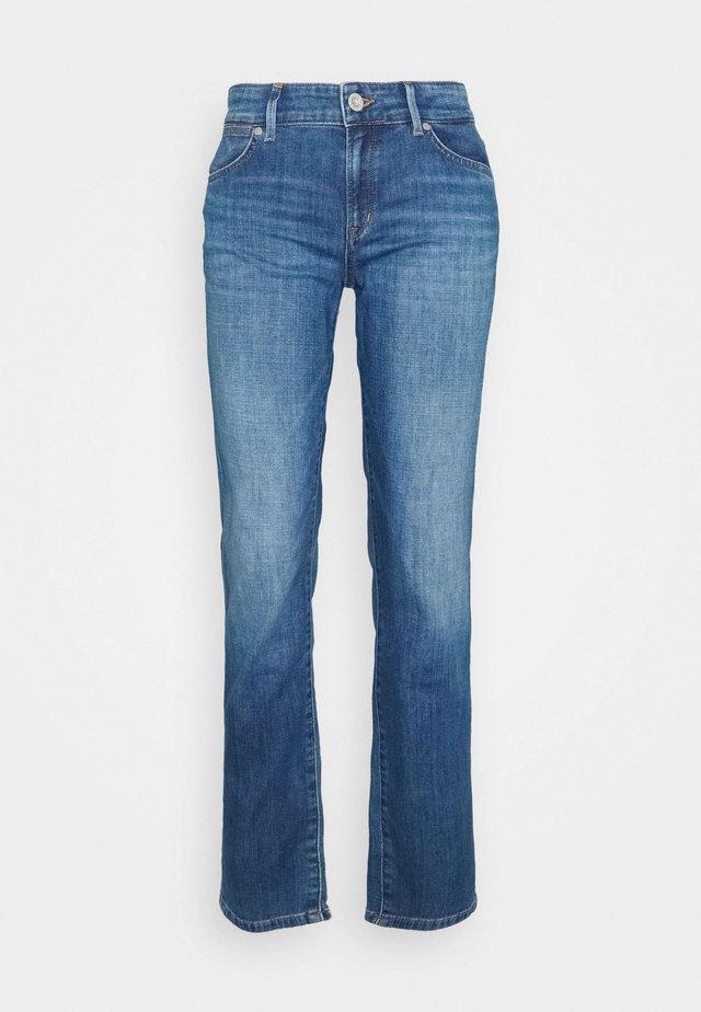 Jeansy Straight Leg - blue wash