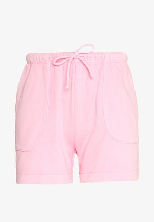 ATTACHED POCKETS - Shorts - sunlit coral