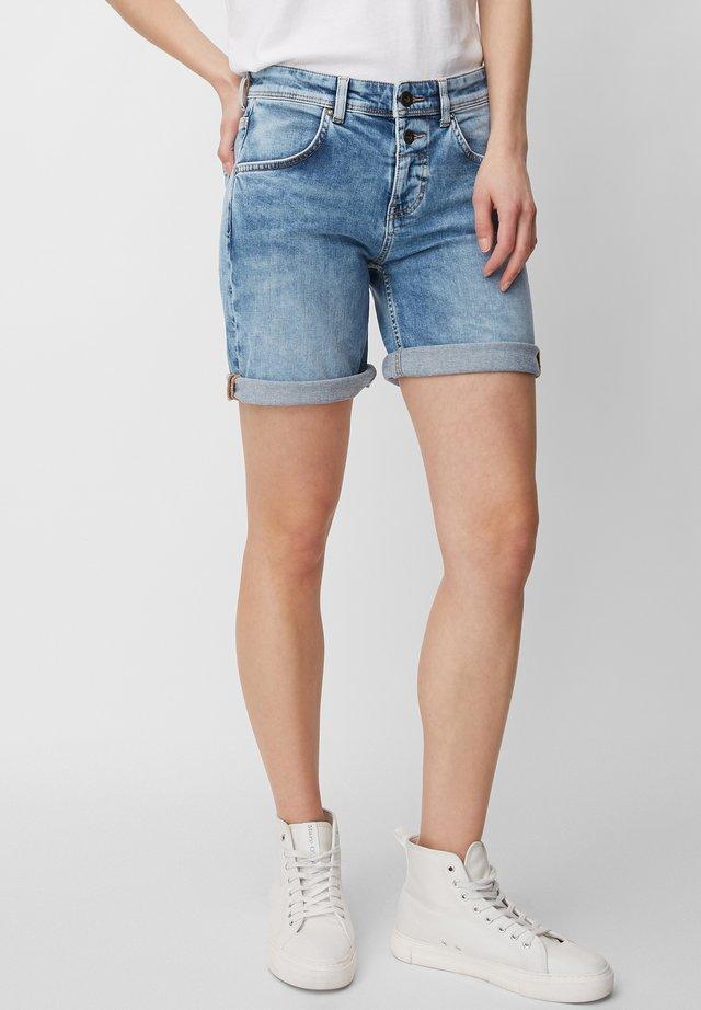 Denim shorts - easy blue wash