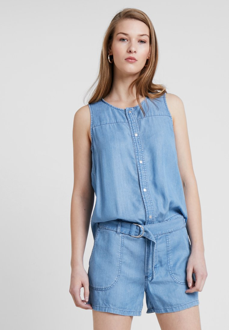 Marc O'Polo - OVERALL LOOSE FIT SHORT LEG - Overal - soft drapy wash