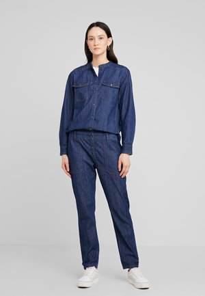 OVERALL LOOSE FIT RELAXED - Mono - drapy authentic denim