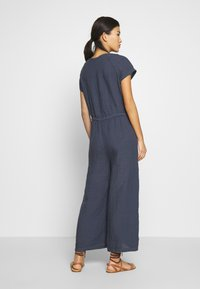 Marc O'Polo - OVERALL SHORT SLEEVES COLDDYE - Jumpsuit - silent sea - 2