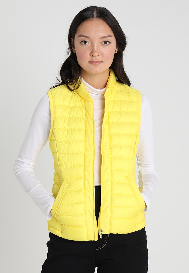 Marc O'Polo - SLOW VEST STAND UP - Veste - spectra yellow