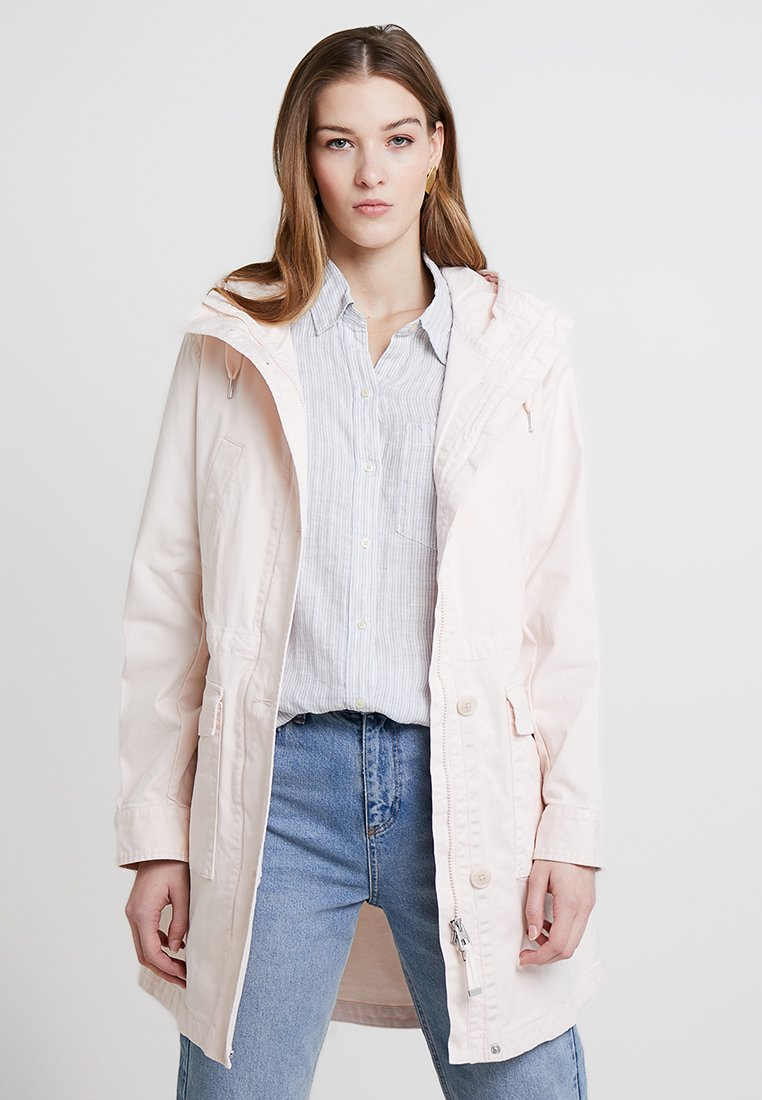 Marc O'Polo - GARMENT DYED HOODED - Parka - rosewater