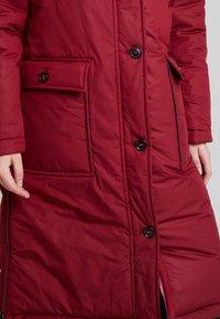 Marc O'Polo - BIG PUFFER COAT PADDED REVERSIBLE - Zimní kabát - light beetroot - 7