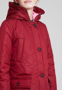 Marc O'Polo - BIG PUFFER COAT PADDED REVERSIBLE - Zimní kabát - light beetroot - 5