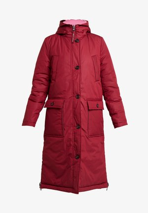 BIG PUFFER COAT PADDED REVERSIBLE - Winterjas - light beetroot
