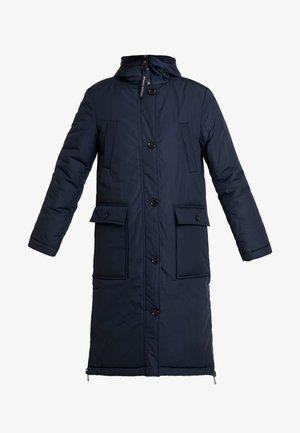 BIG PUFFER COAT PADDED REVERSIBLE - Winterjas - midnight blue