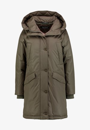 PARKA REAL DOWN THIN PADDING - Abrigo de plumas - winter olive