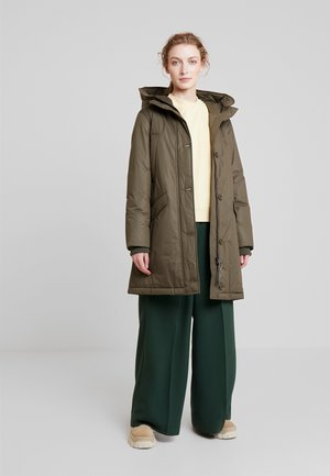 PARKA REAL DOWN THIN PADDING - Down coat - winter olive