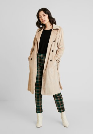 REVERS BELT - Trenchcoat - light sand