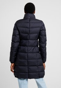 Marc O'Polo - COAT LONG FILLED HOOD - Piumino - midnight blue - 4