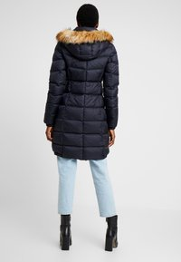 Marc O'Polo - COAT LONG FILLED HOOD - Piumino - midnight blue - 2