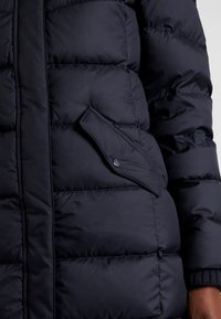 Marc O'Polo - COAT LONG FILLED HOOD - Piumino - midnight blue - 6