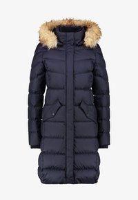 Marc O'Polo - COAT LONG FILLED HOOD - Piumino - midnight blue - 5