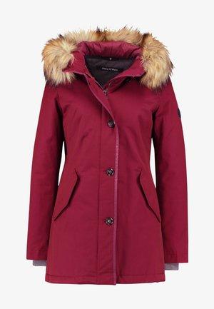 Winter coat - berry pink