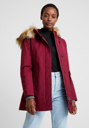 Winter coat - berry pink
