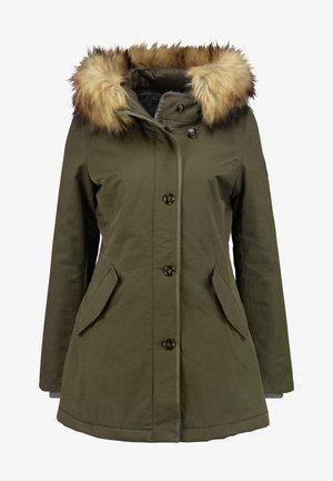 Winter coat - workers olive