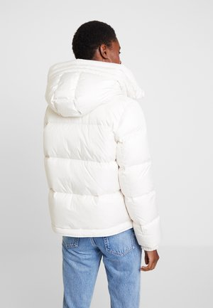 Down jacket - birch white