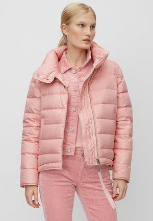 JACKET FRONT ZIPPER - Down jacket - mottled pink