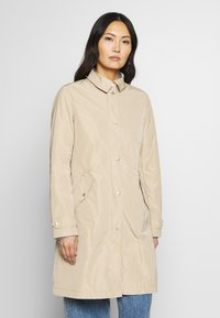 Marc O'Polo - COAT TURN DOWN COLLAR DETACHABLE HOOD PRESSBUTTONS FRONT - Parka - swedish pine - 0